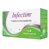 Infectim vaginale en urineweg infecties 10 capsules
